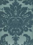 Regency SketchTwenty3 Wallpaper Grand Damask Teal PV00222 By Tim Wilman For Blendworth